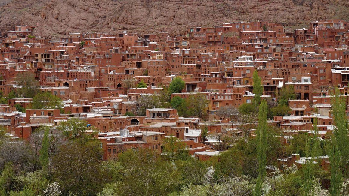 Abyaneh, een roodgekleurd dorpje, Iran