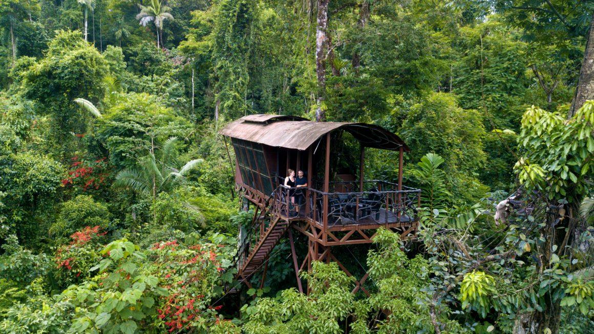Boomhut overnachting in Costa Rica, Costa Rica