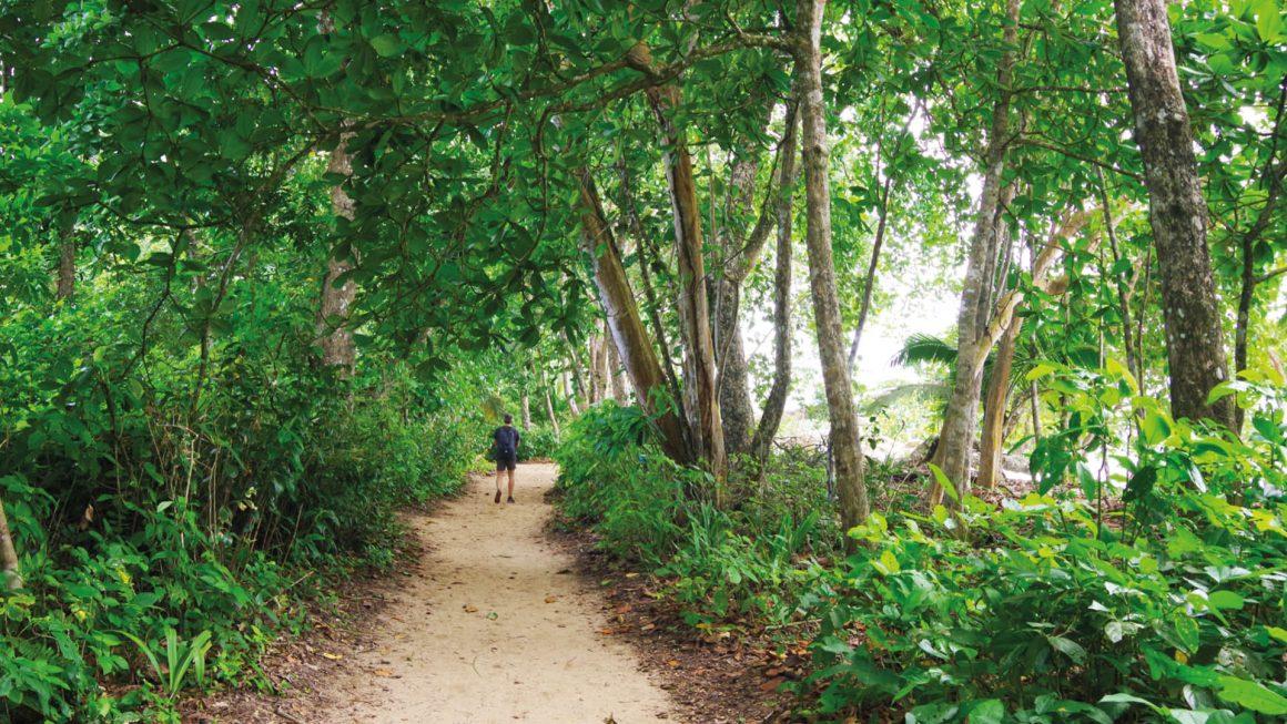 Cahuita nationaal park en strand, Costa Rica