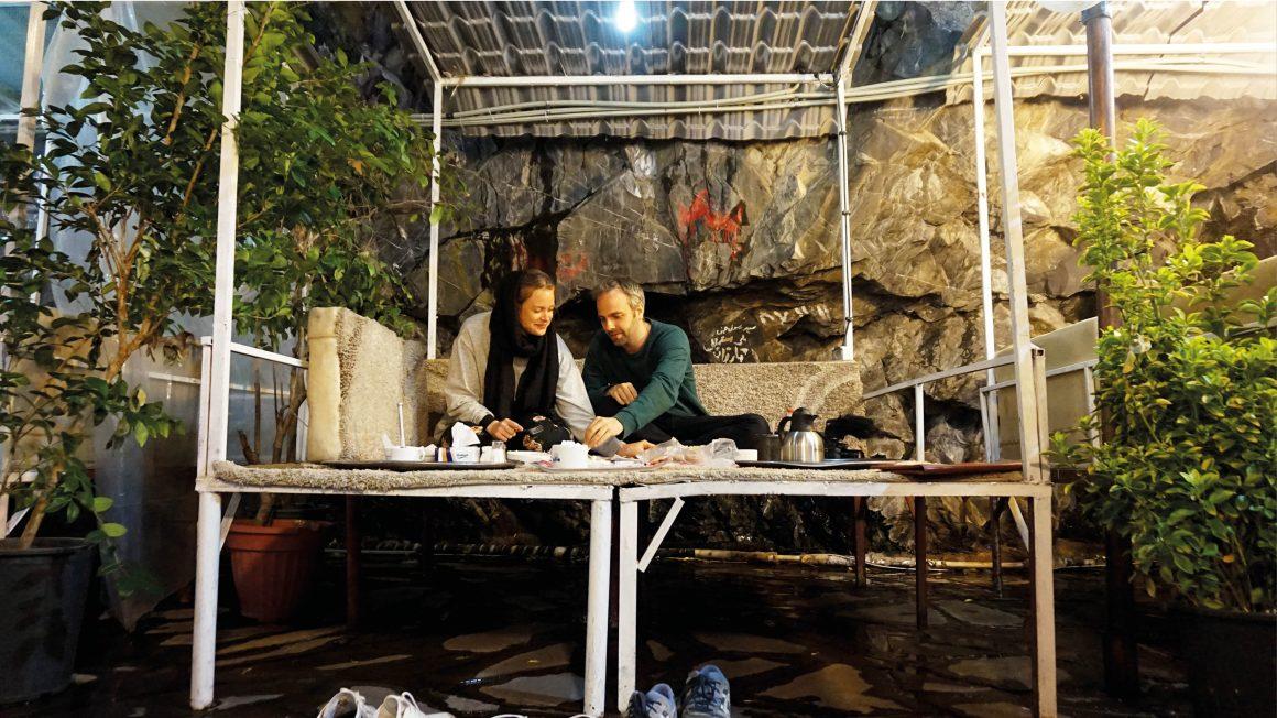 Darband, leuk dineren in Teheran, Iran