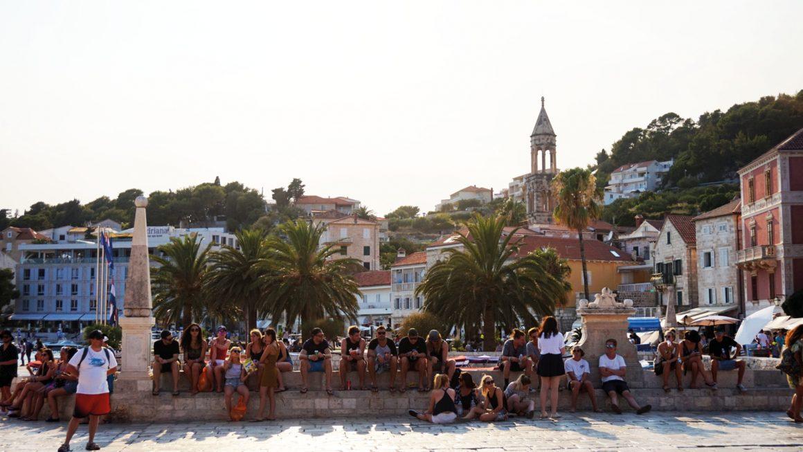 Hvar, zien en gezien worden, Kroatië