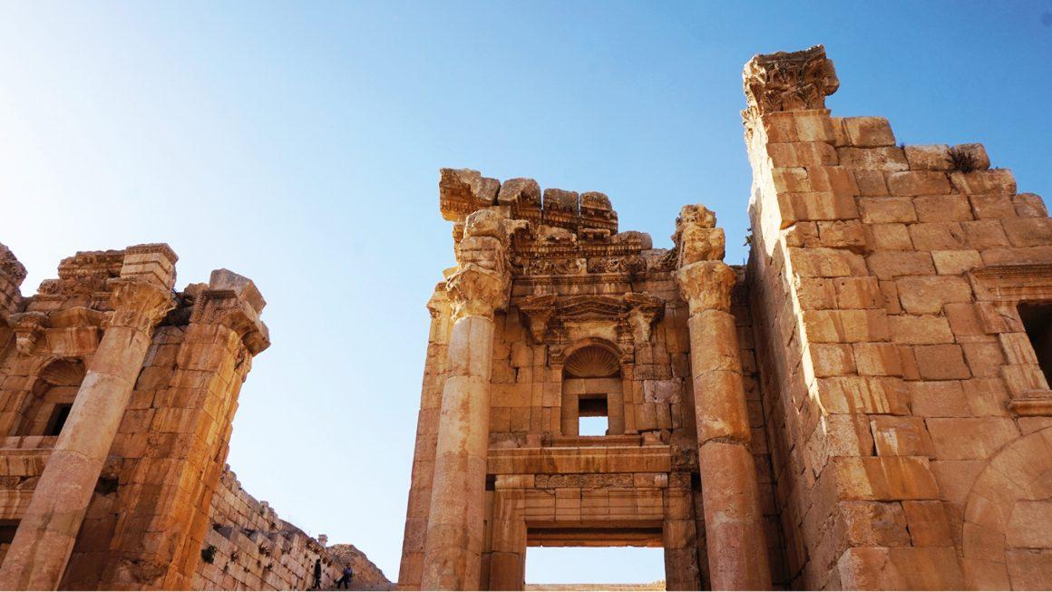 Jerash, bijzondere ruïnes, Jordanië