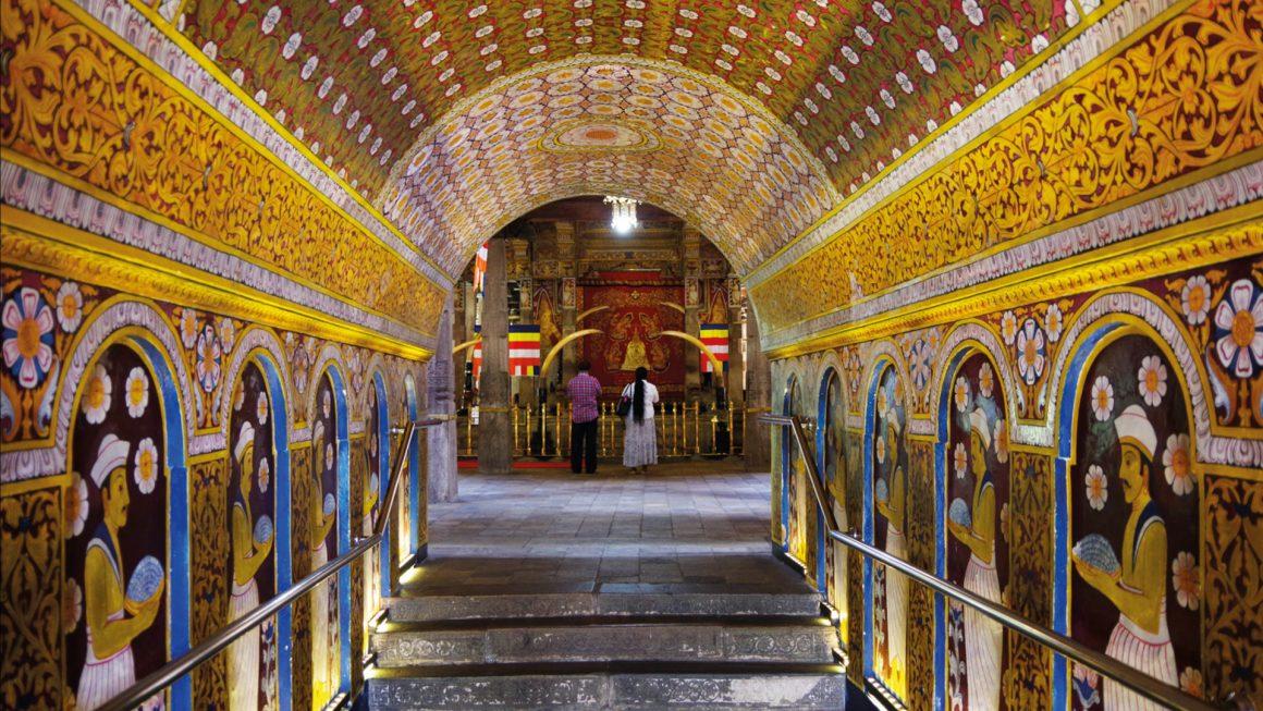 Kandy, de belangrijkste tempel van Sri Lanka, Sri Lanka