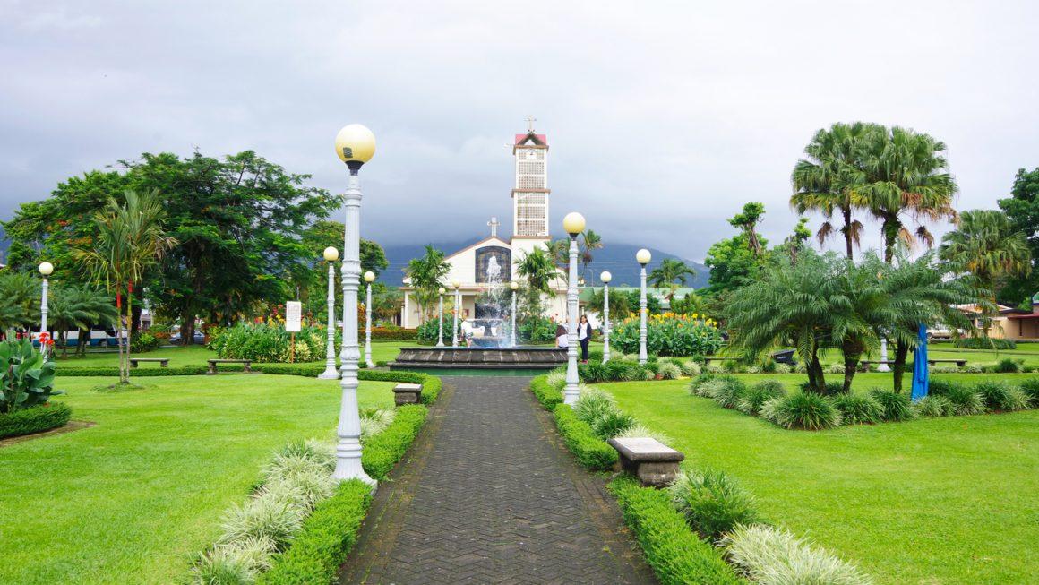 La Fortuna en de vulkaan Arenal, Costa Rica