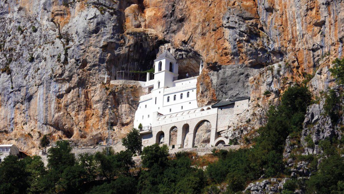 Ostrog klooster pelgrimsoord, Montenegro