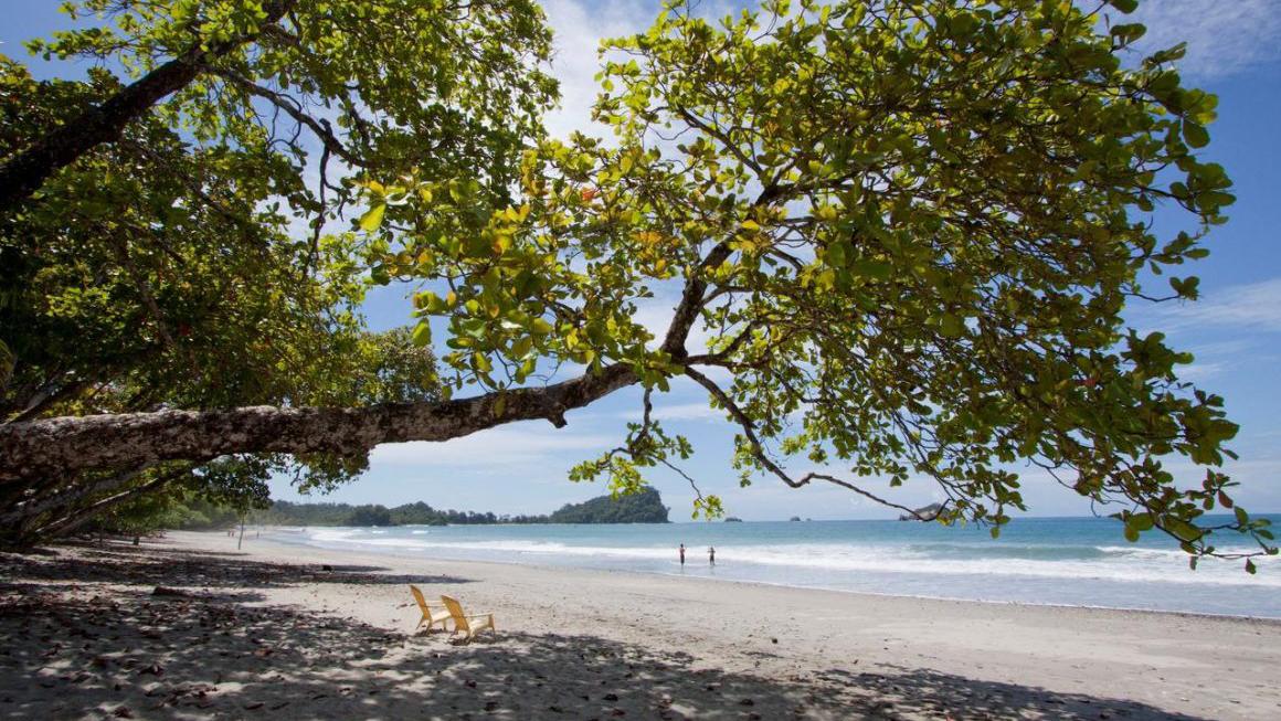 Manuel Antonio National Park, natuur en strand, Costa Rica