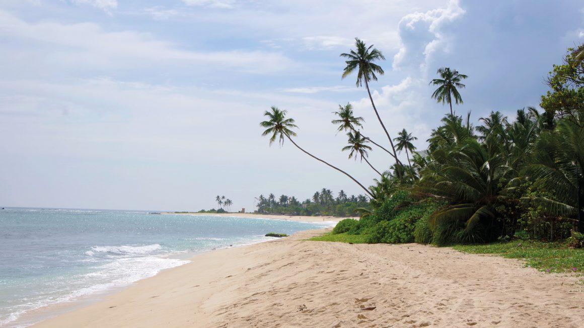 Mirissa, zon, zee en strand, Sri Lanka