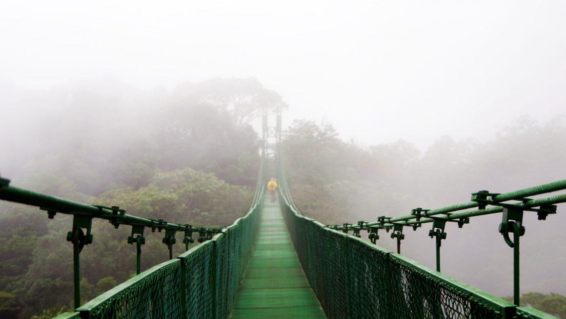 Monteverde, een populaire bestemming, Costa Rica