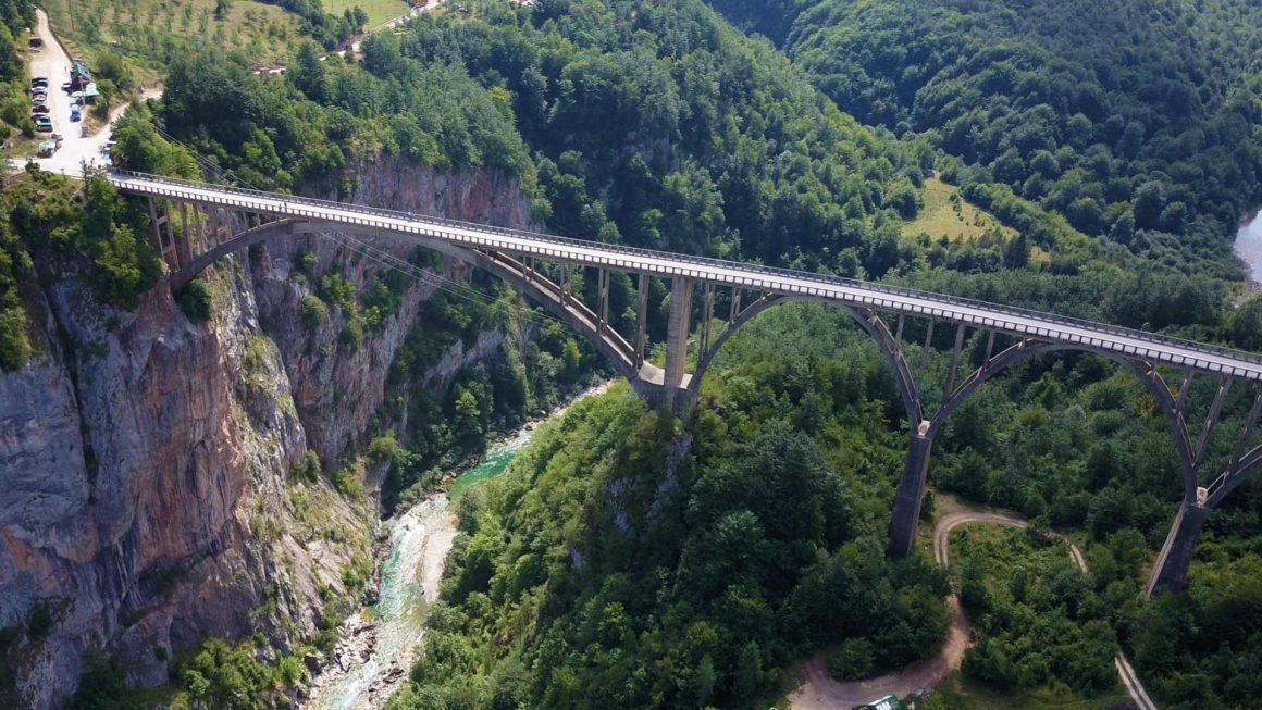 Durmitor: raften en ziplinen, Montenegro
