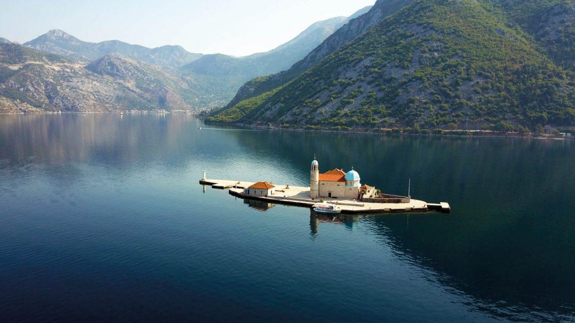 Perast, wonderschoon dorpje, Montenegro