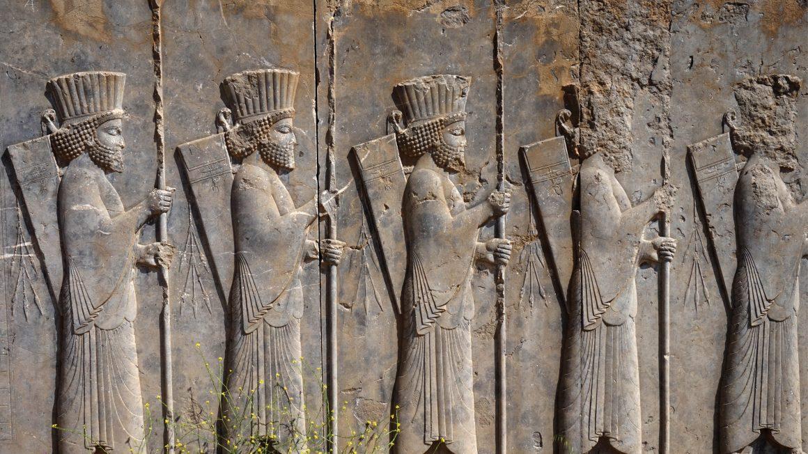 Persepolis, loop door geschiedenis, Iran