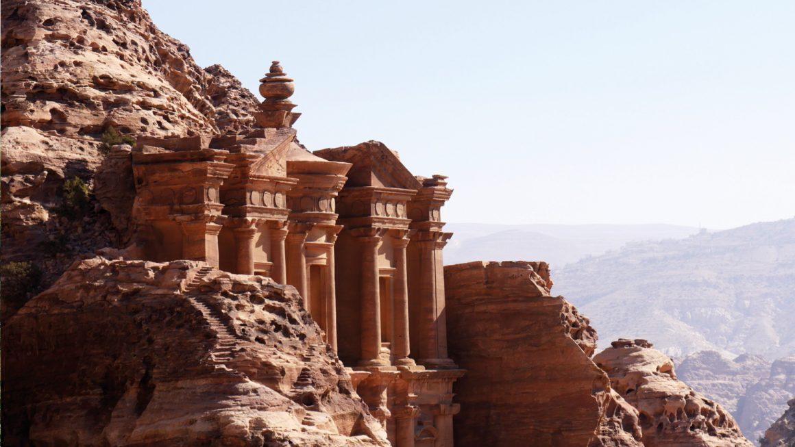 Petra, het hoogtepunt van Jordanië, Jordanië