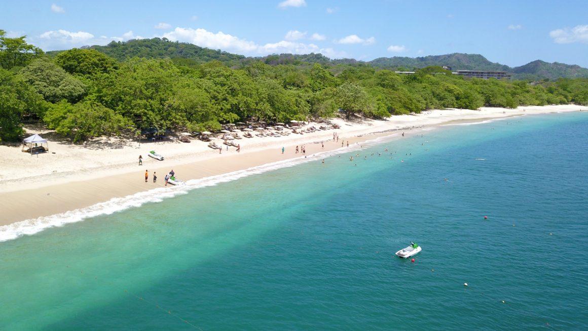 Playa Conchal, een prachtig strand, Costa Rica