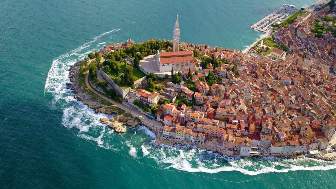 Rovinj, een schilderachtig dorpje, Kroatië