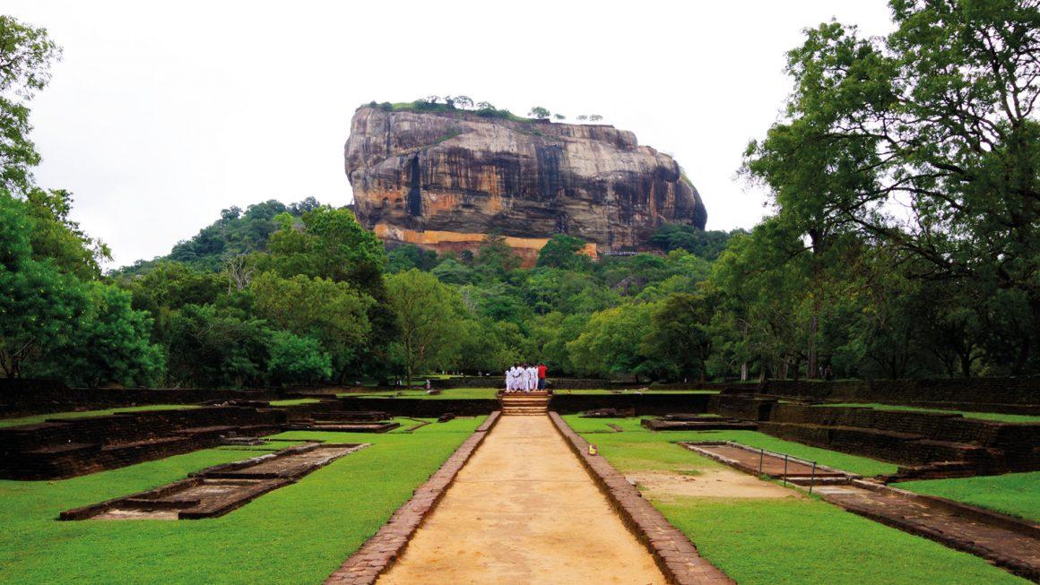 Sigiriya, de leeuwenrots, Sri Lanka