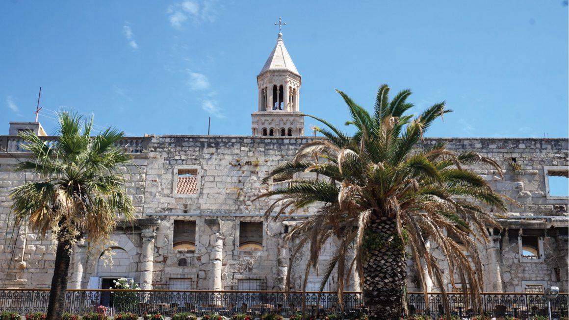 Split, een moderne drukke stad, Kroatië