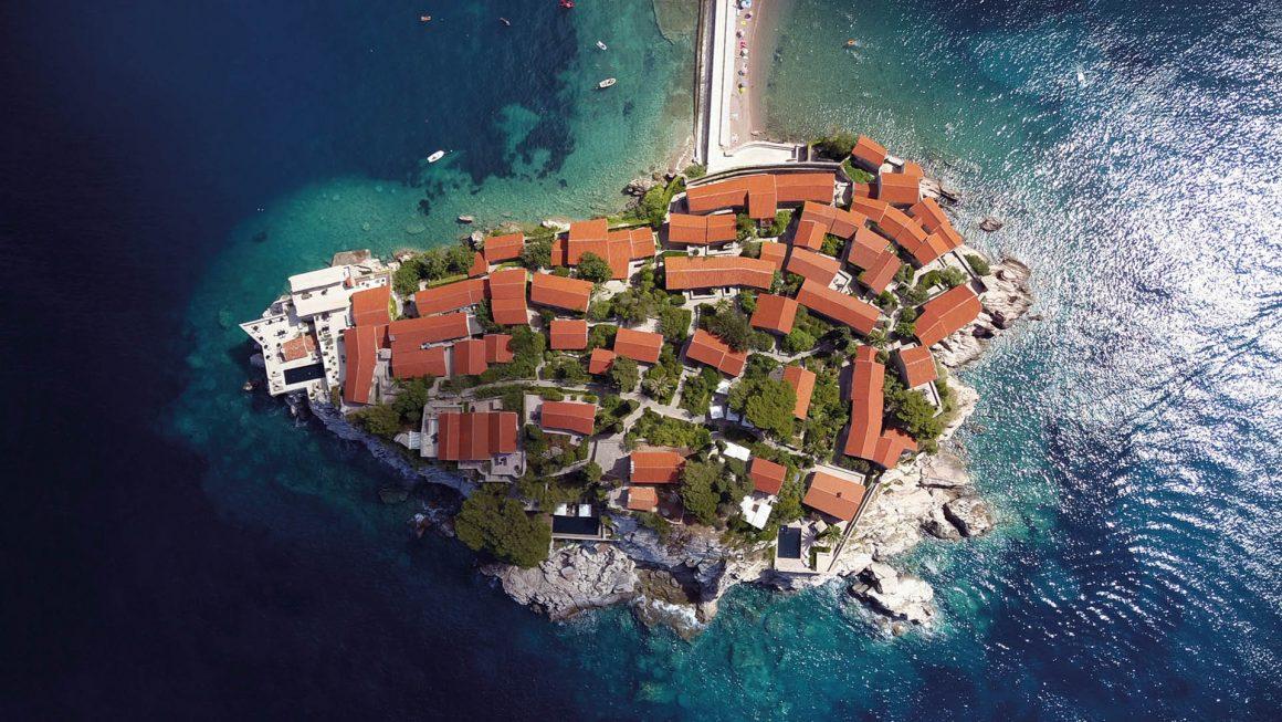 Sveti Stefan: een exclusief eiland, Montenegro