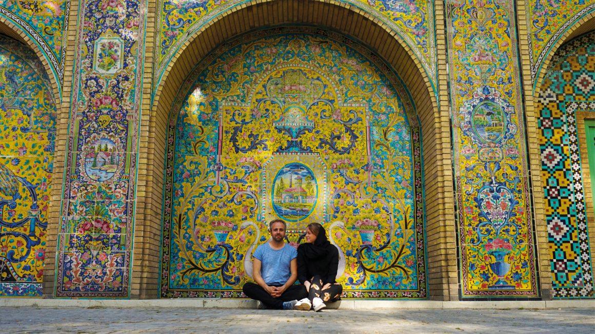 Teheran, de hoofdstad van Iran, Iran
