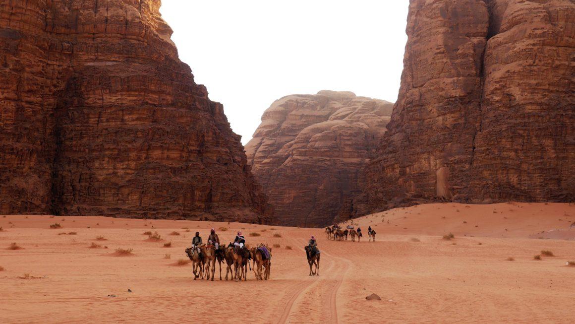 Wadi Rum, de mooiste woestijn, Jordanië