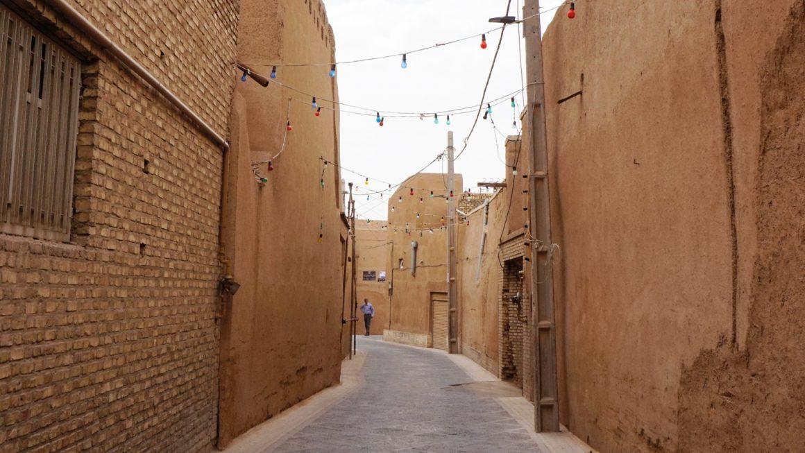 Yazd, een bijzondere woestijnstad, Iran