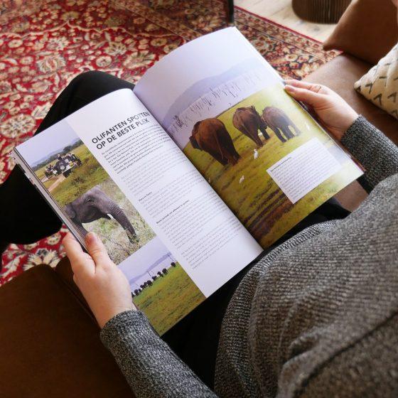 Sri Lanka reisgids magazine - luxe uitgave