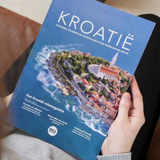 Kroatië reisgids magazine - luxe uitgave