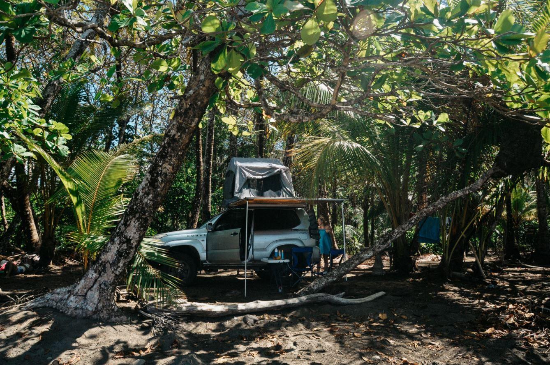 kamperen costa rica daktent