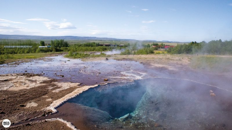 geysir ijsland golden circle
