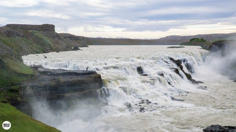 gullfoss ijsland golden circle
