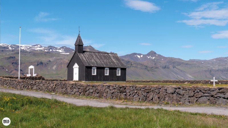 snaefellsnes zwarte kerkje