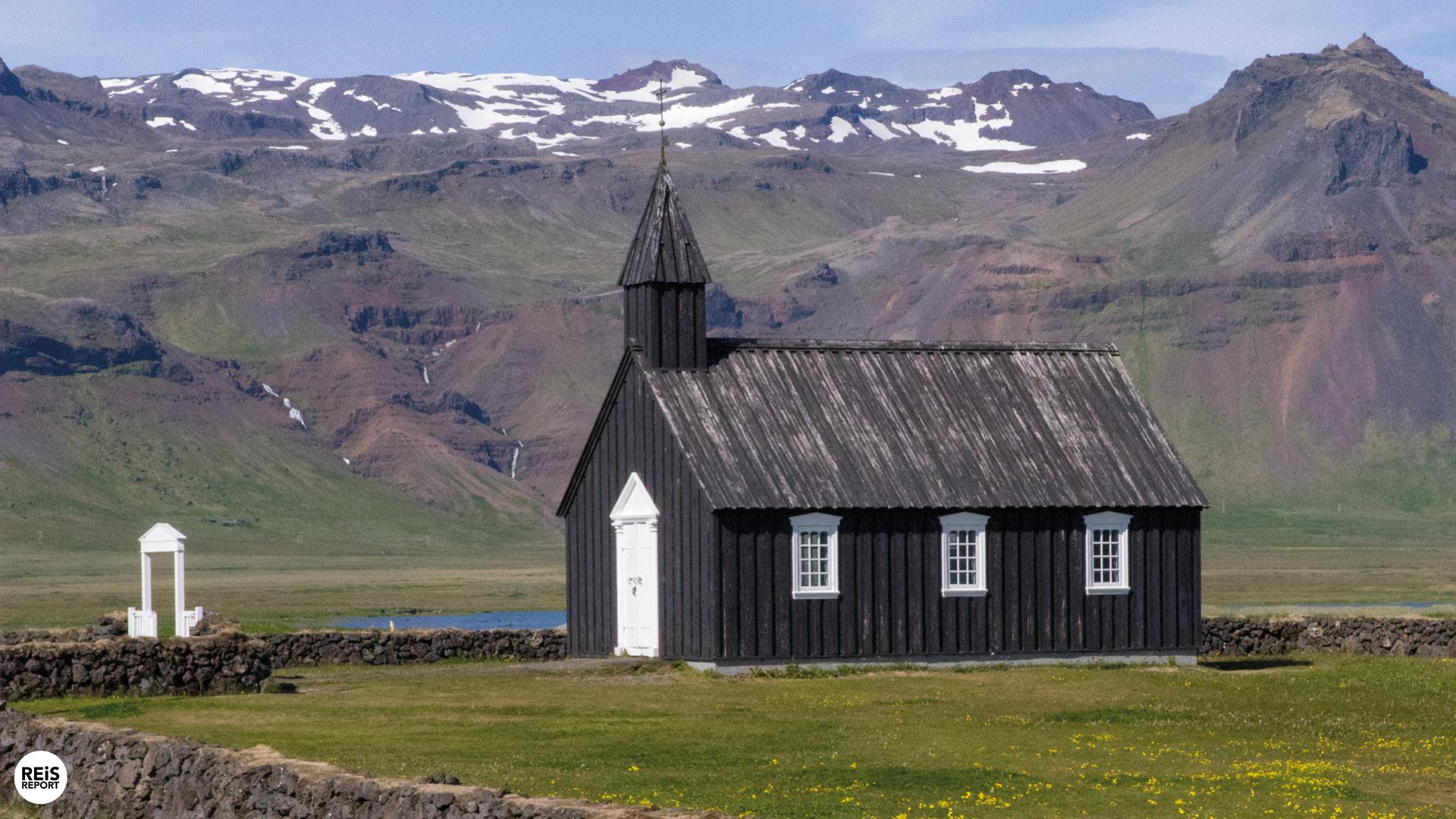 Het noorderlicht, IJsland
