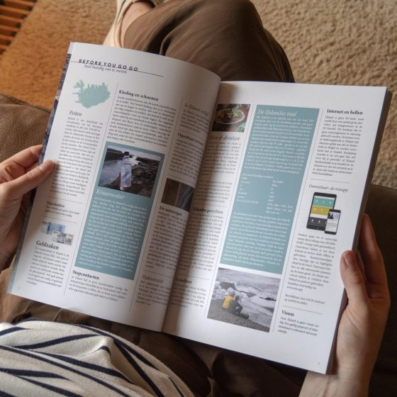 IJsland reisgids magazine 2021 - luxe uitgave