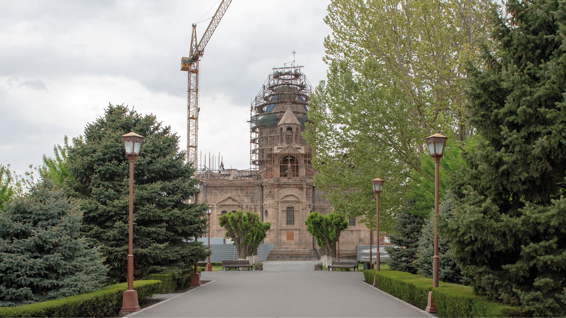 Echmiatsin en Zvartnots, Armenië