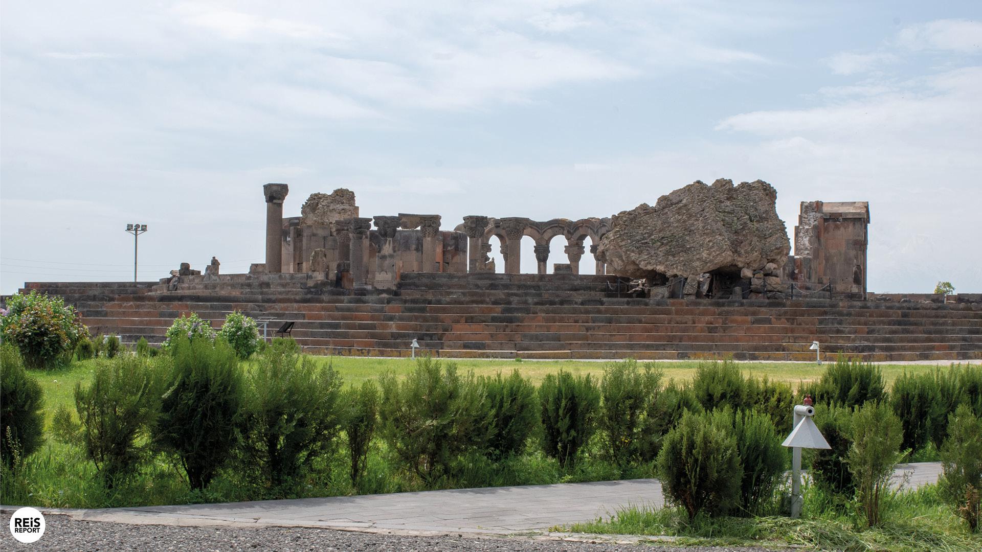 zvartnots armenie