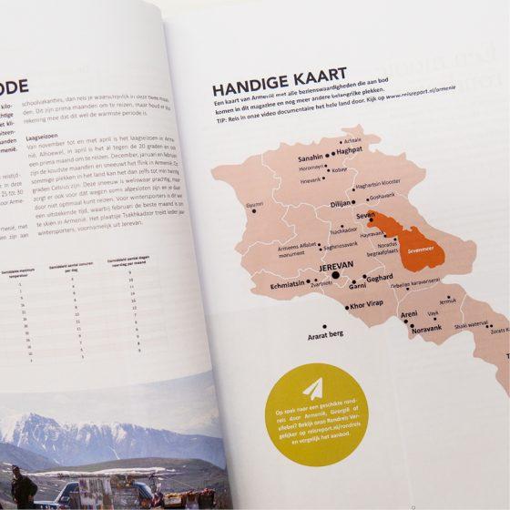 Georgië & Armenië reisgids magazine - luxe uitgave