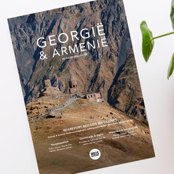 Het Georgië & Armenië reisgids magazine 2020