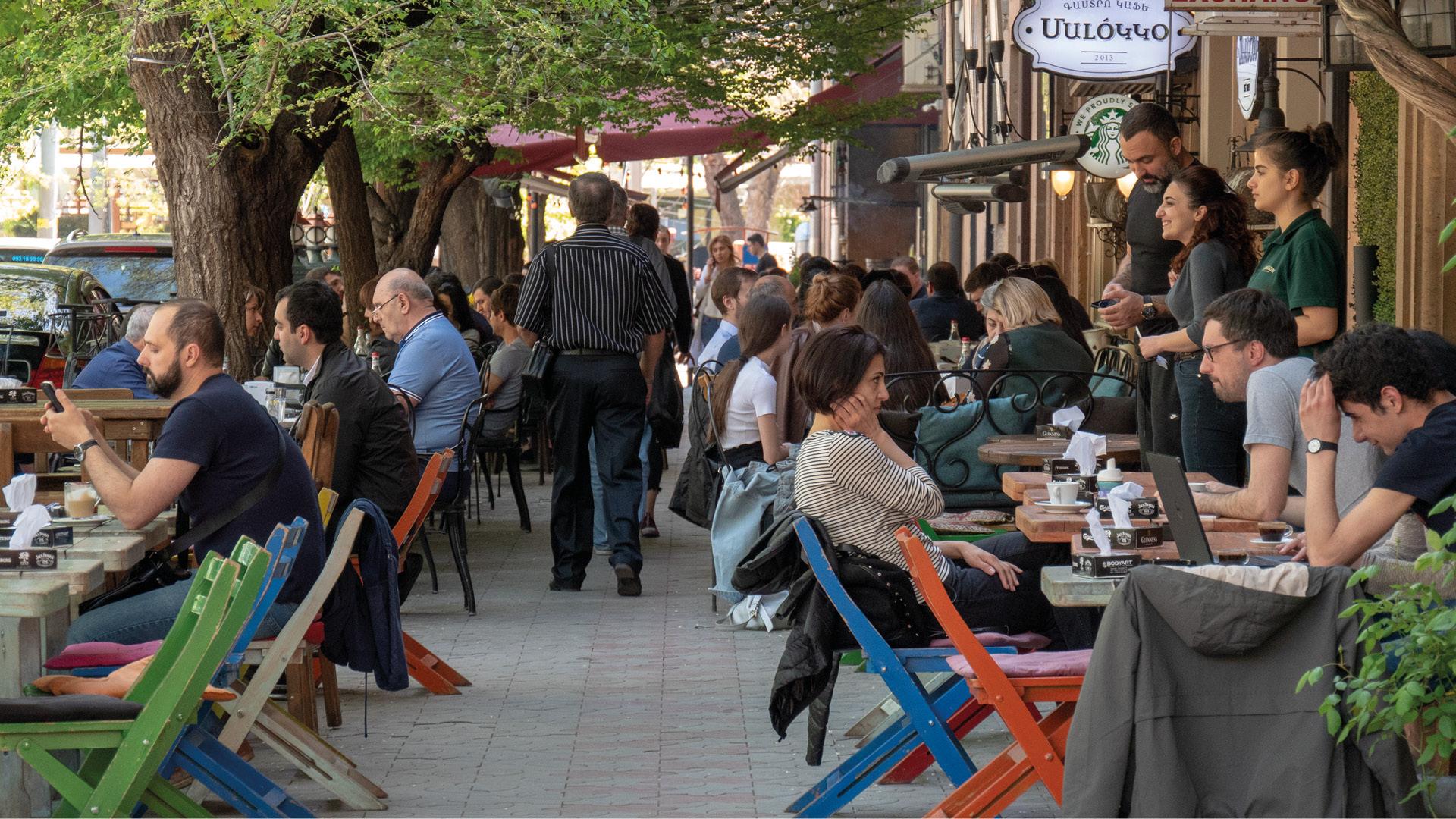 Jerevan, hoofdstad van Armenië, Armenië