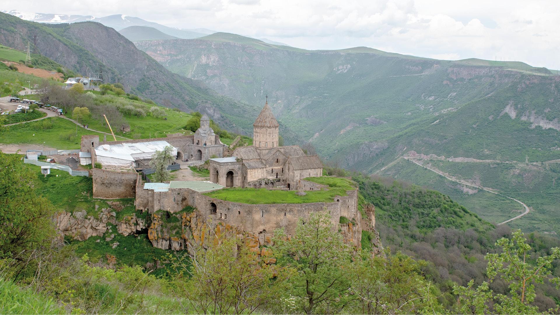 Tatev klooster, Armenië