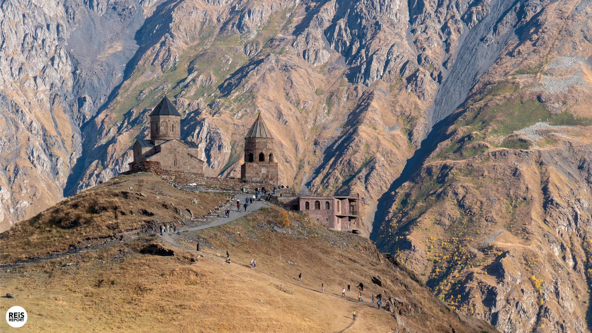Kazbegi, de imponerende regio in het noorden, Georgië