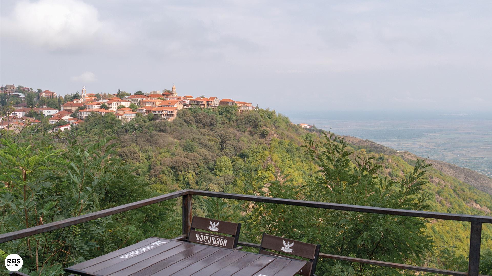 Sighnaghi en de wijnregio van Georgië, Georgië