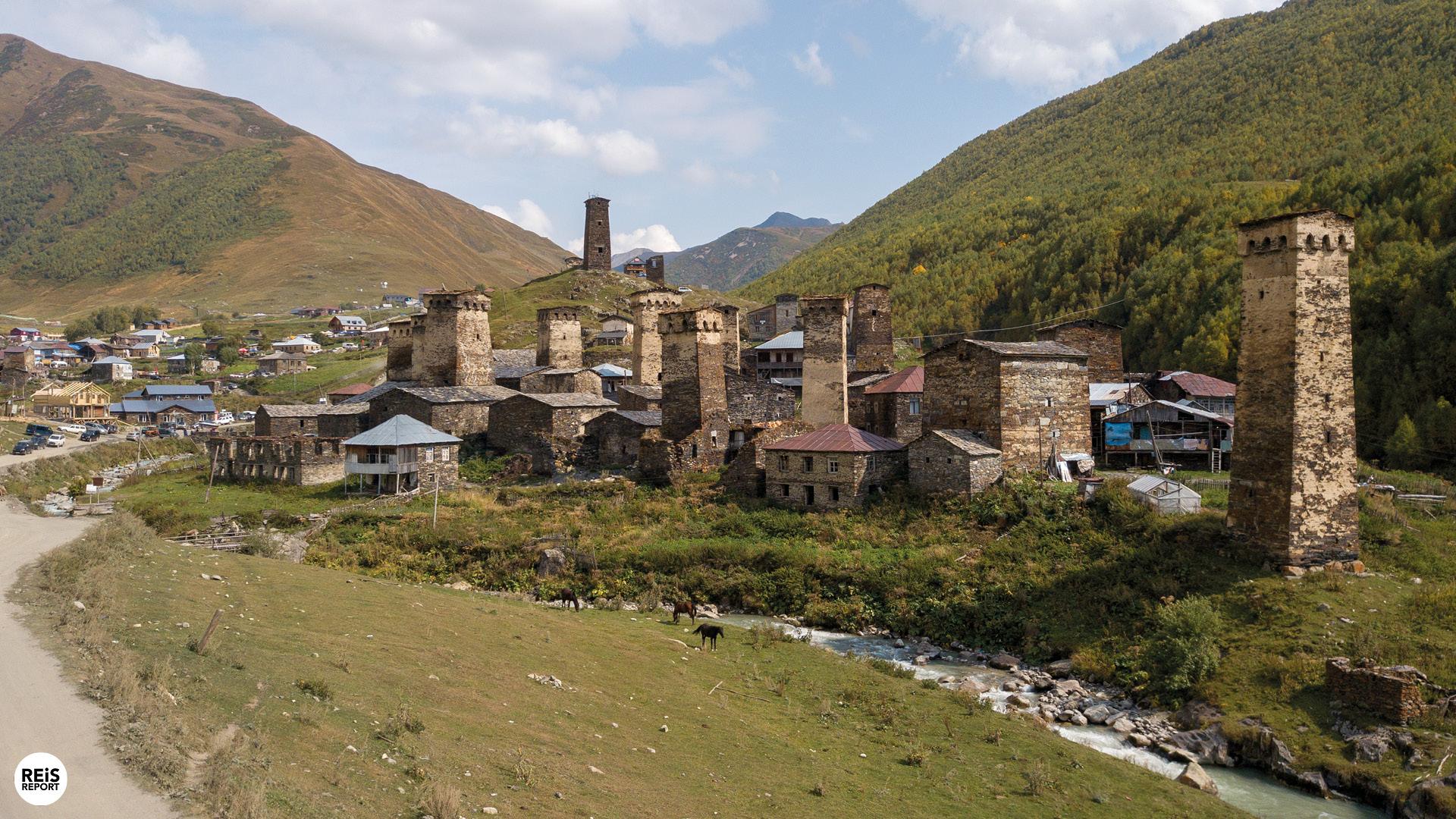 Ushguli, Georgië: hoogst bewoonde dorpje van Europa, Georgië