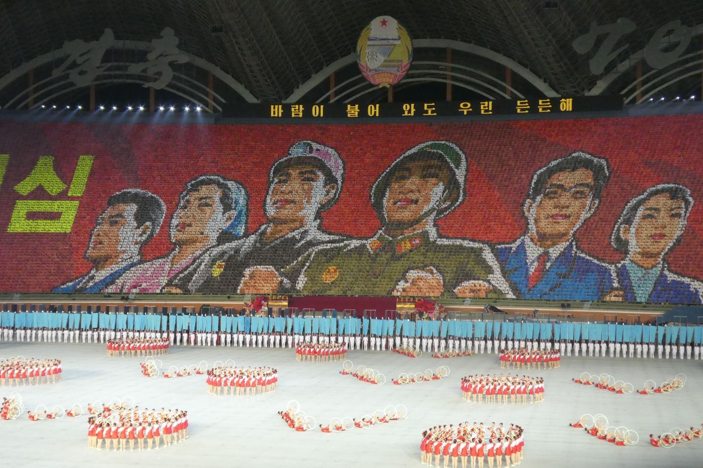 noord-korea-reis-mass-games