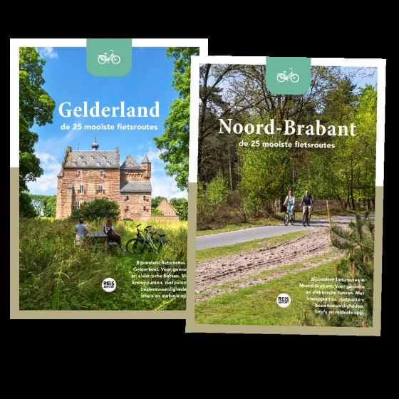 De mooiste fietsroutes: Gelderland & Noord-Brabant (duo pakket)