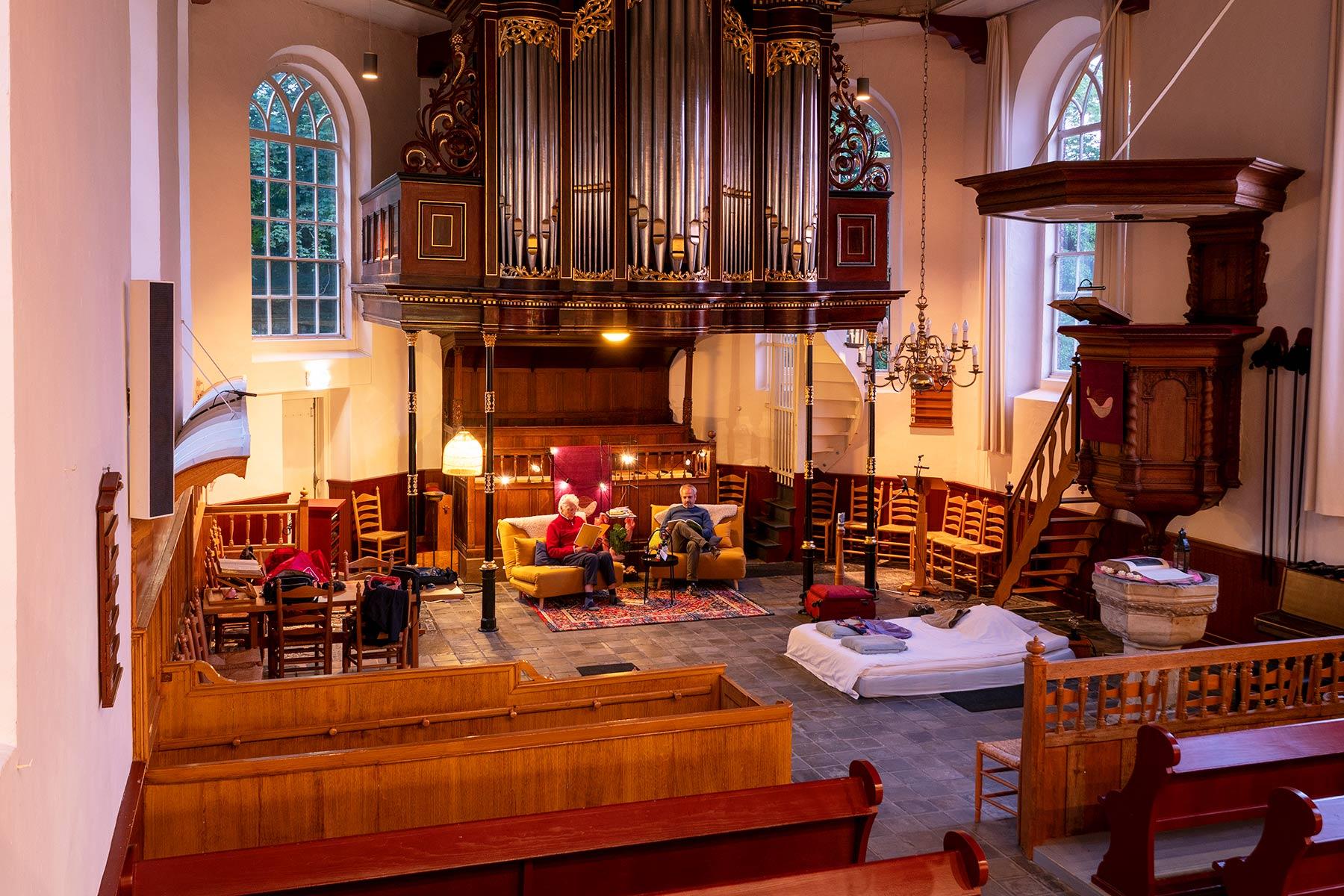 overnachten-in-een-kerk