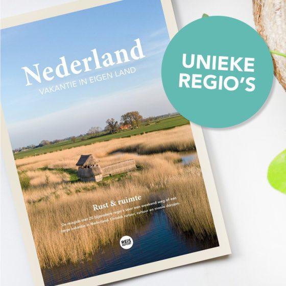 Nederland reisgids - vakantie in eigen land (rust & ruimte)